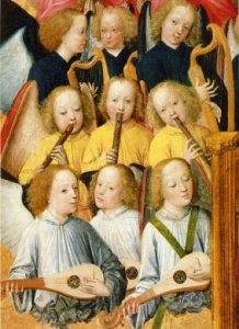 Musizierende Engel